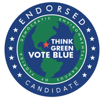 Seal of Endorsement from the Democratic Environmental Caucus of Florida